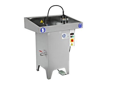 Manual parts washers, industrial parts washing cleaning machines, car parts washers, heavy duty industrial spare parts washers manufacturer. MY-100 Manual Parts Washing Machine